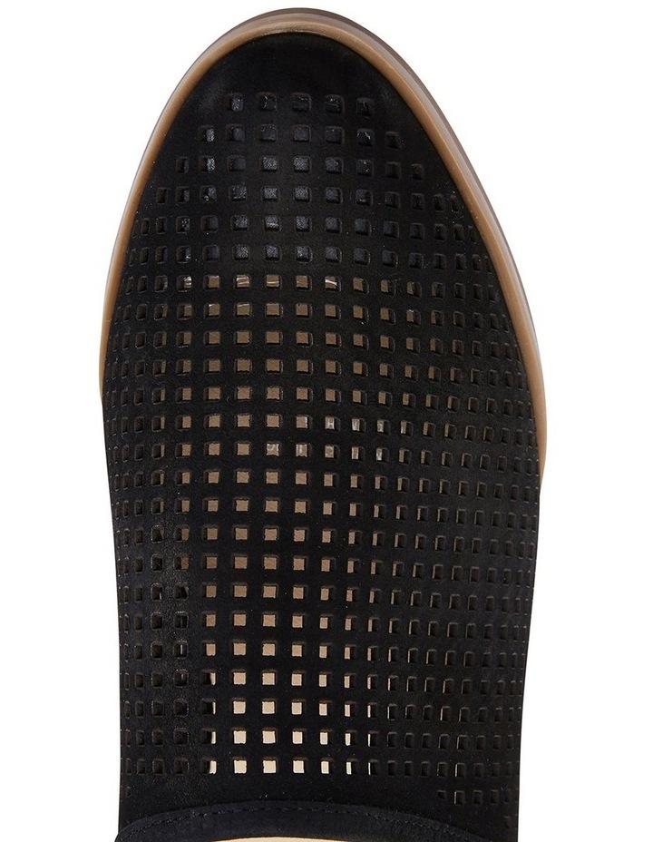 Mystic Black Nubuck Heeled Shoes image 7