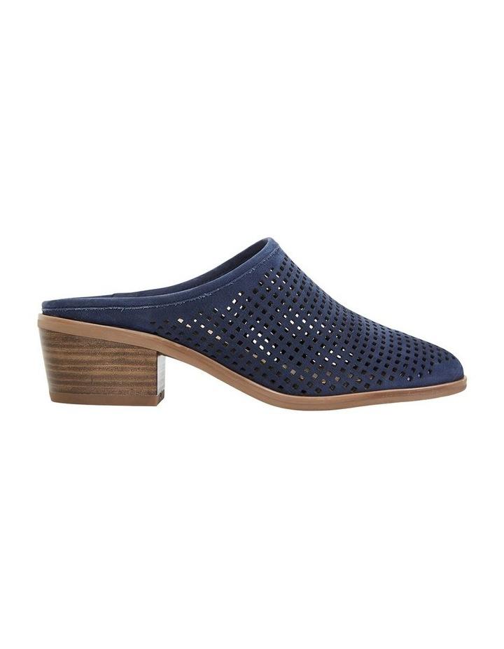 Mystic Navy Nubuck Heeled Shoes image 1
