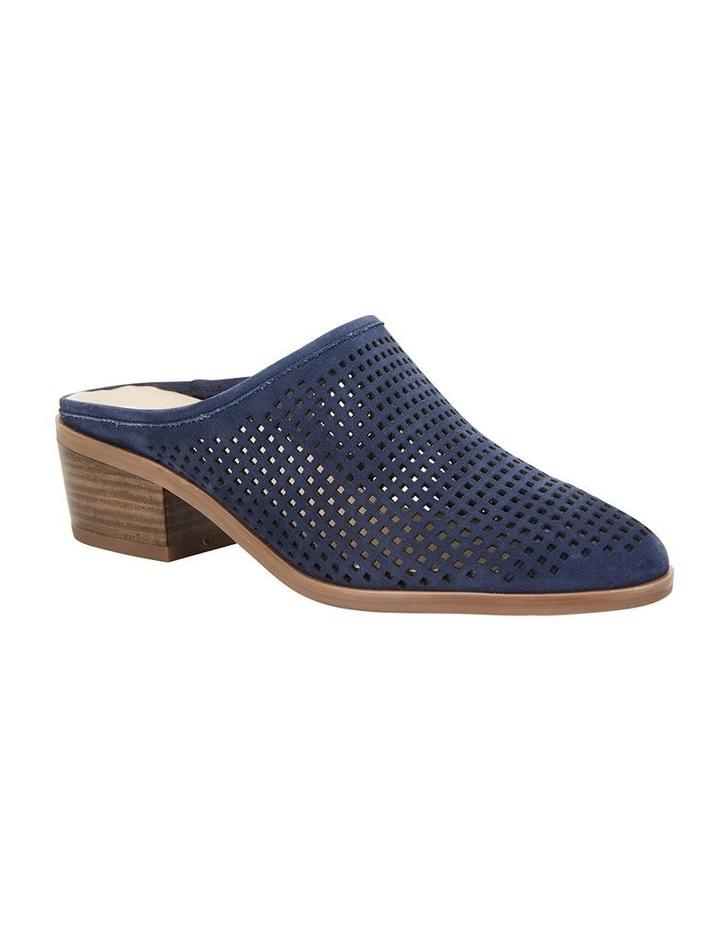 Mystic Navy Nubuck Heeled Shoes image 2