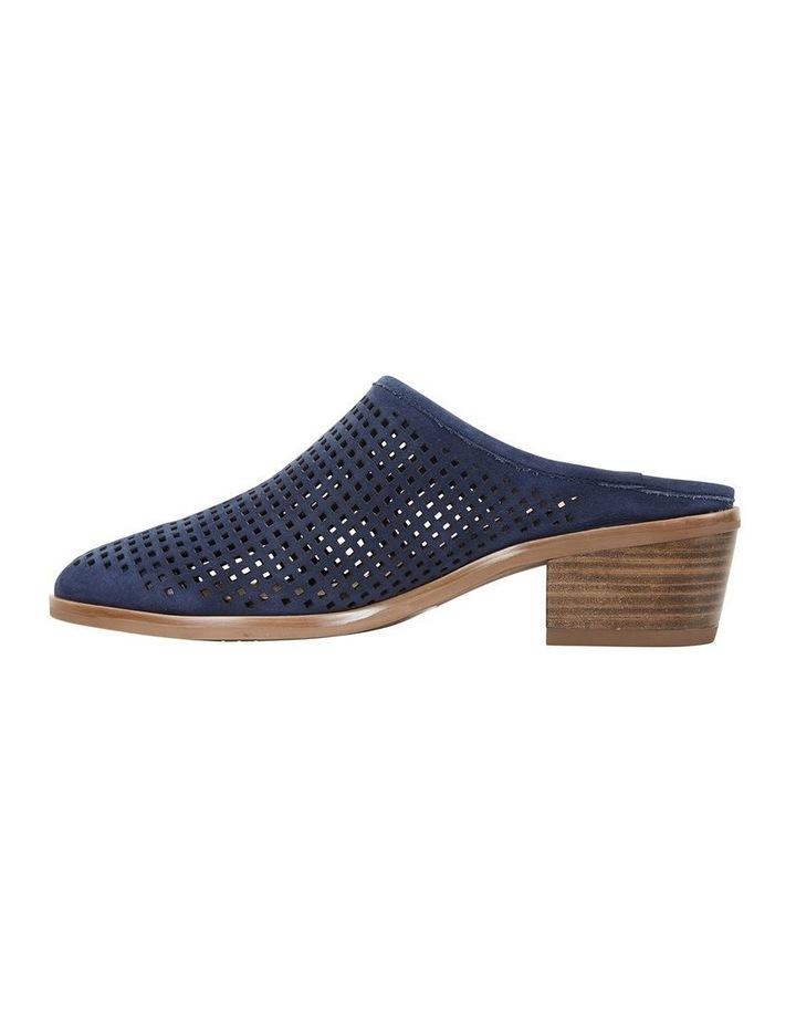 Mystic Navy Nubuck Heeled Shoes image 3