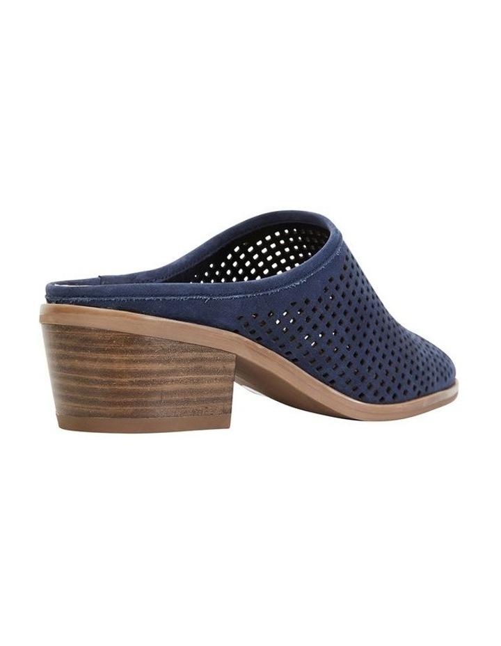 Mystic Navy Nubuck Heeled Shoes image 4