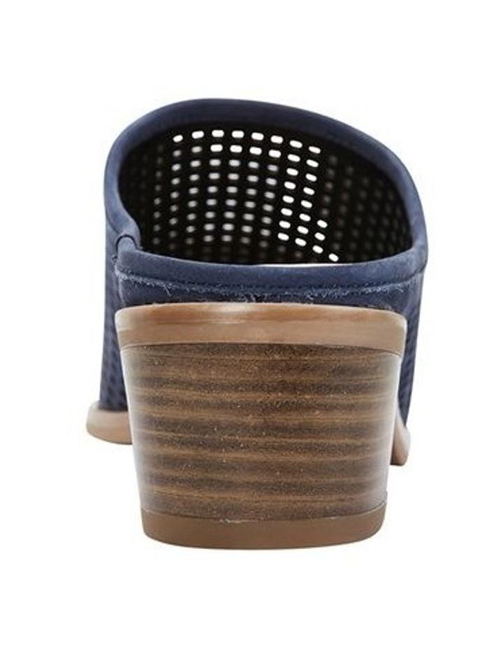 Mystic Navy Nubuck Heeled Shoes image 5