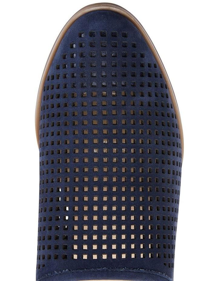 Mystic Navy Nubuck Heeled Shoes image 7