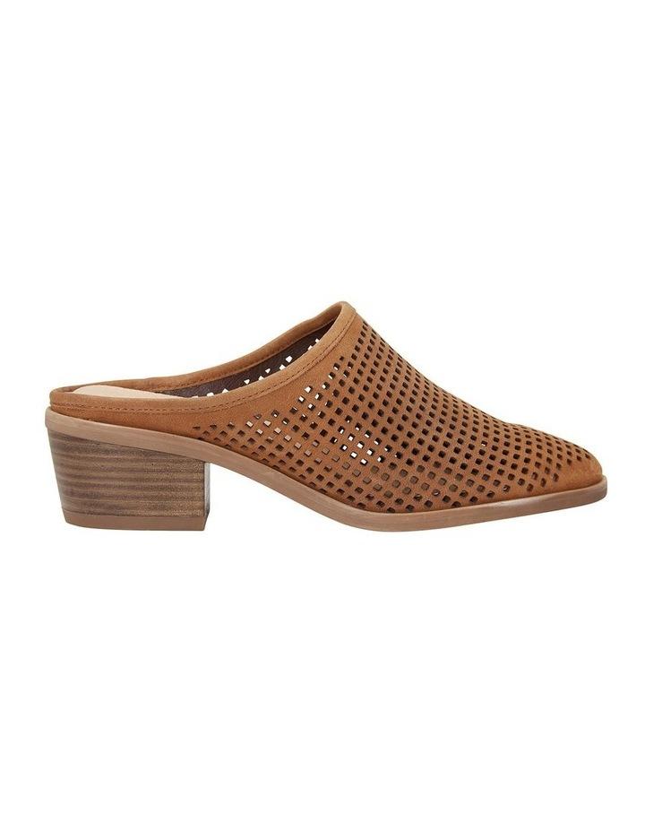 Mystic Tan Nubuck Heeled Shoes image 1