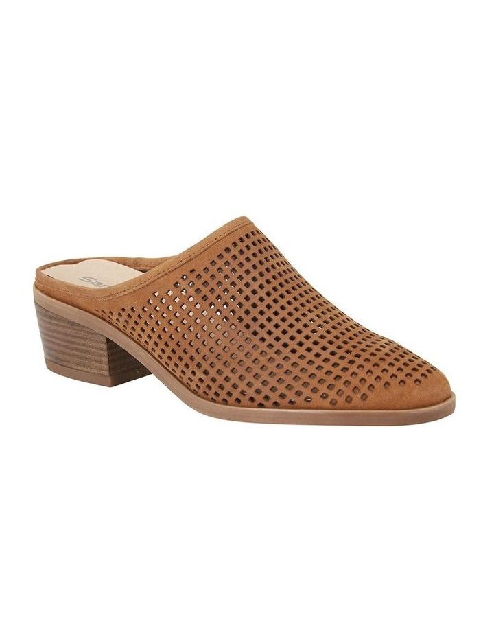Mystic Tan Nubuck Heeled Shoes image 2