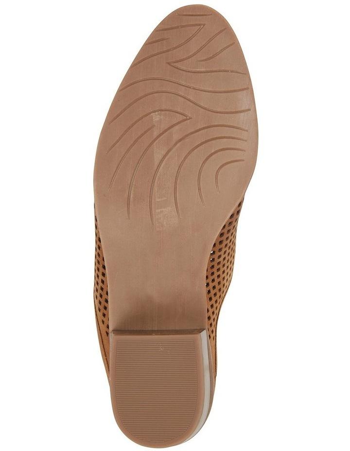 Mystic Tan Nubuck Heeled Shoes image 6