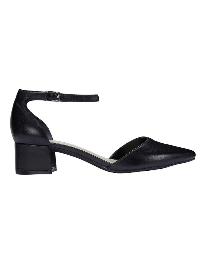 Dash Black Glove Heeled Shoes image 1