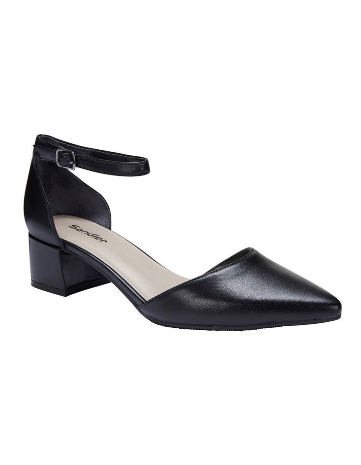 Dash Black Glove Heeled Shoes image 2