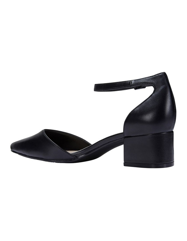 Dash Black Glove Heeled Shoes image 7