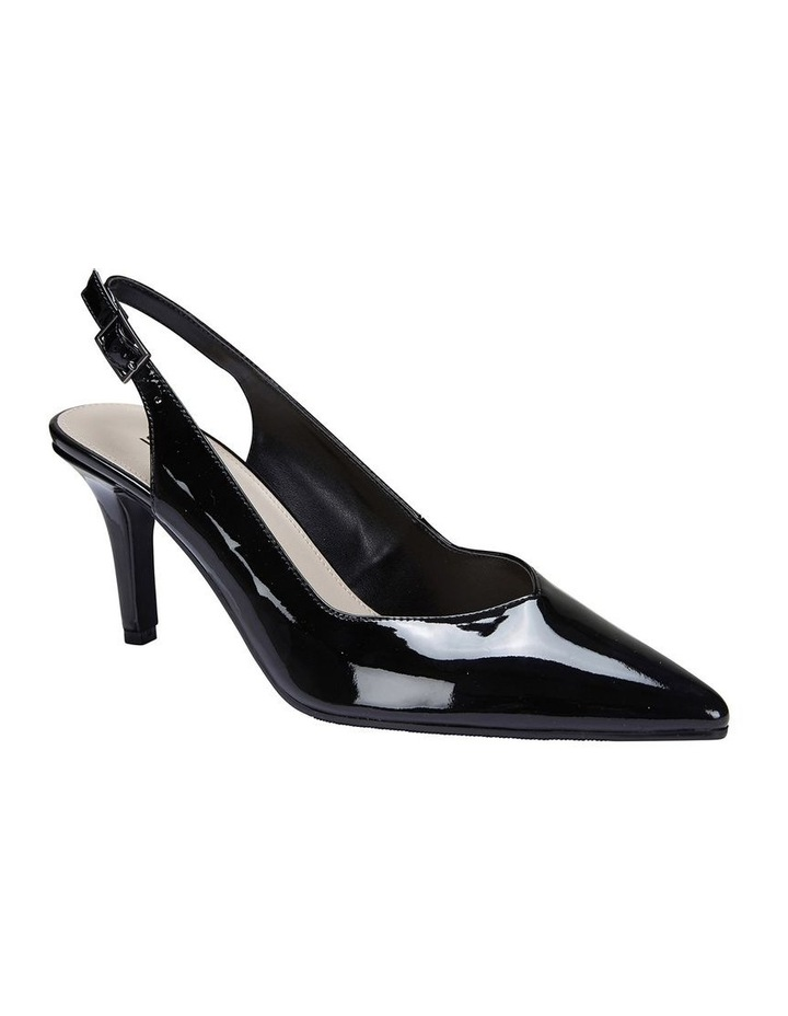 Maestro Black Patent Heeled Shoes image 2