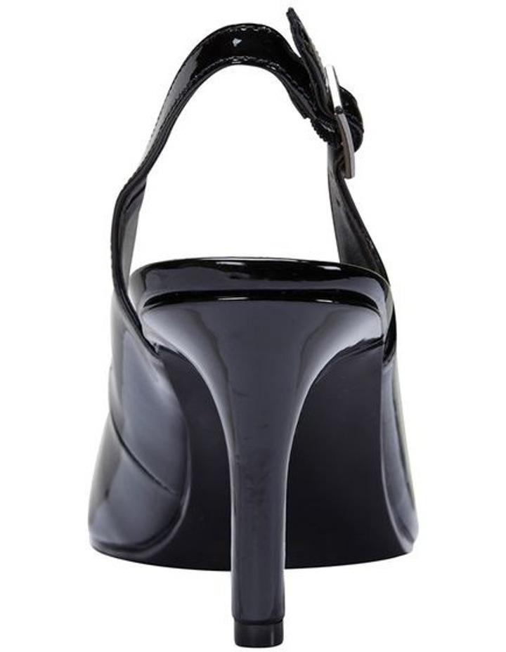 Maestro Black Patent Heeled Shoes image 5