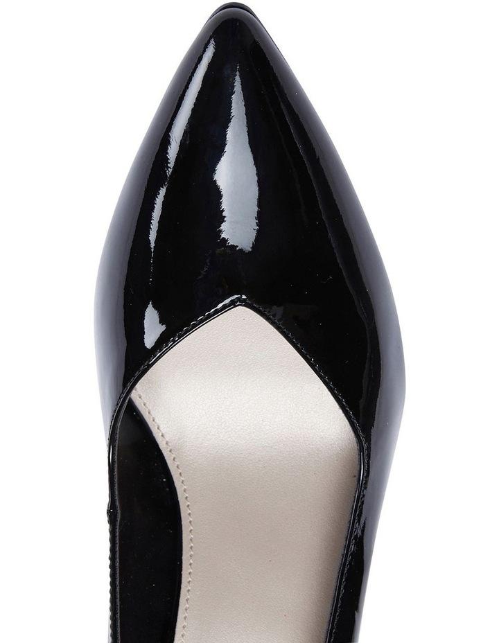 Maestro Black Patent Heeled Shoes image 7