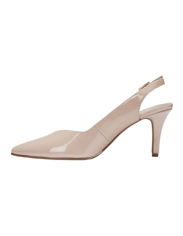 Maestro Nude Patent Heeled Shoes image 3