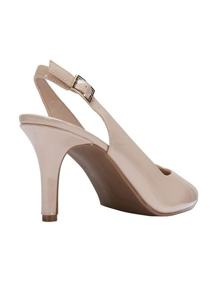 Maestro Nude Patent Heeled Shoes image 4