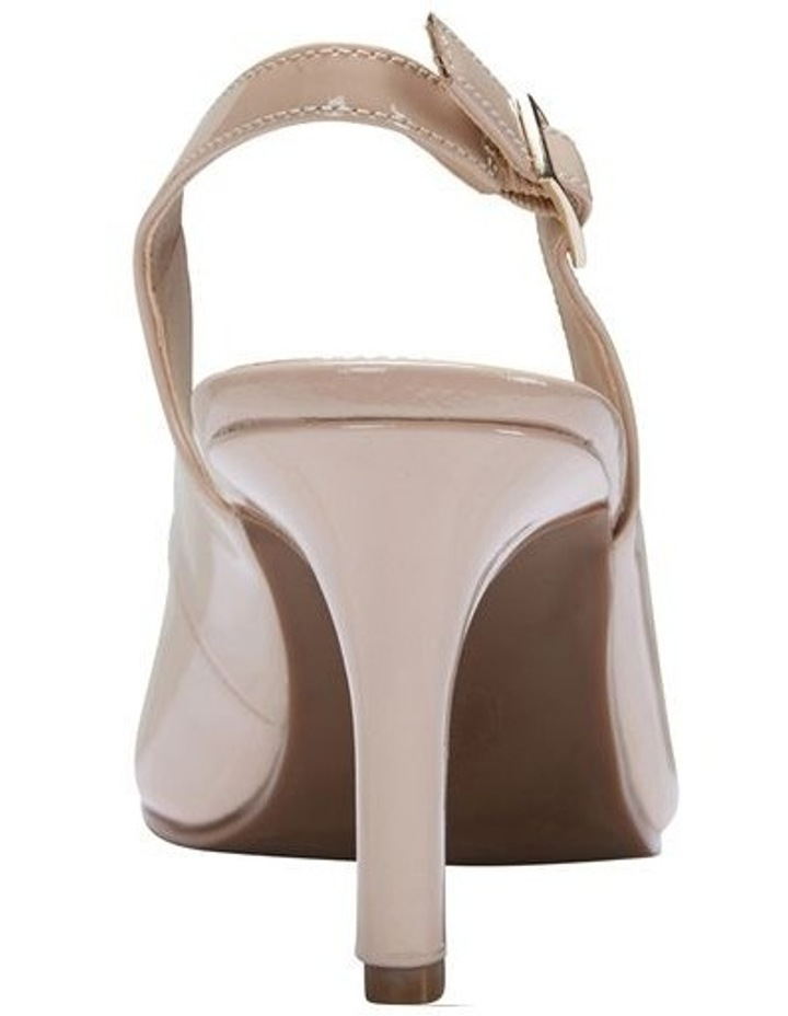 Maestro Nude Patent Heeled Shoes image 5