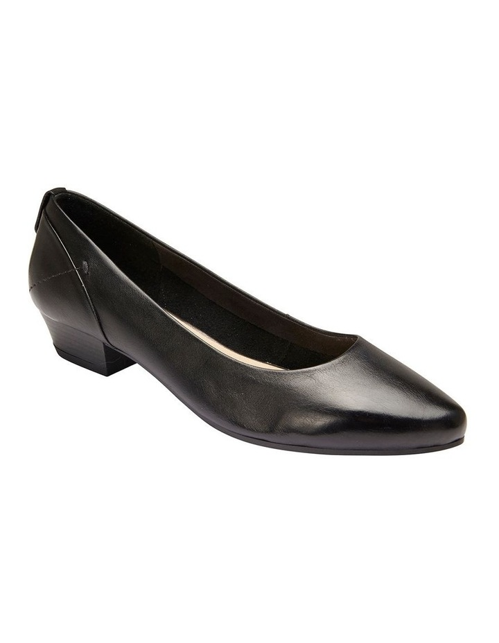 Gatto Black Glove Heeled Shoe image 2