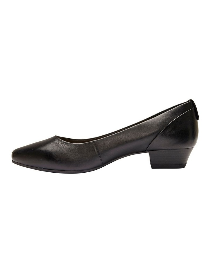 Gatto Black Glove Heeled Shoe image 3