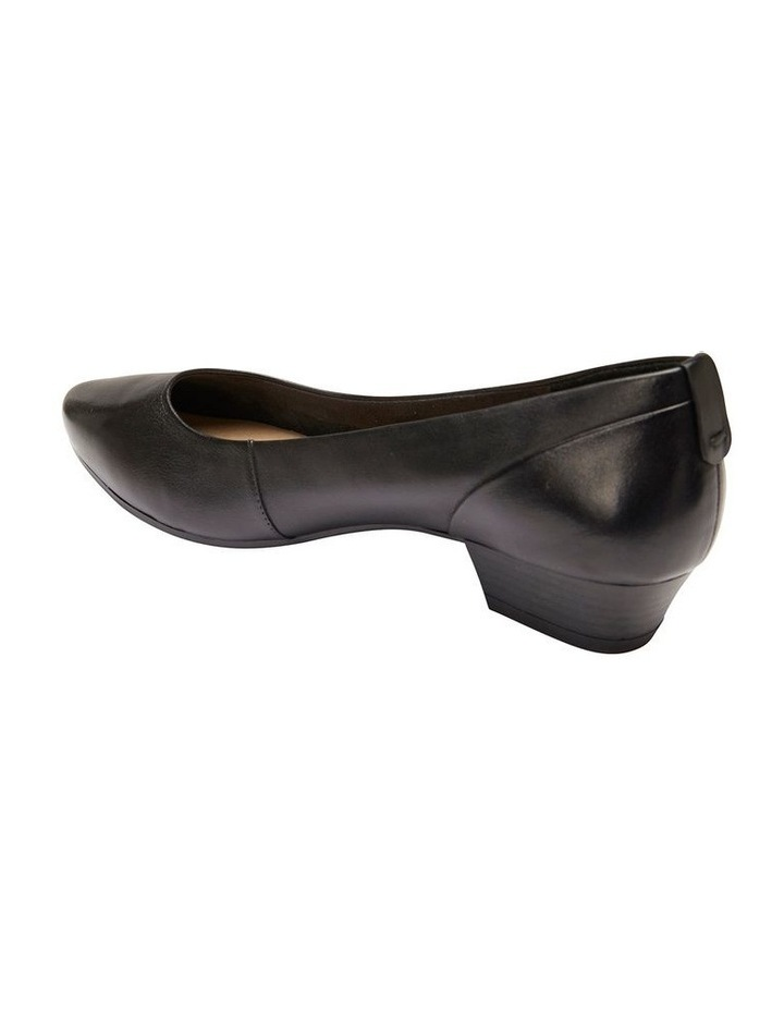 Gatto Black Glove Heeled Shoe image 4