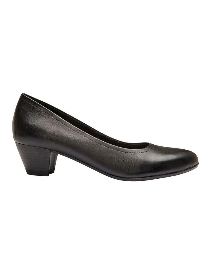 Ollie Black Glove Heeled Shoe image 1