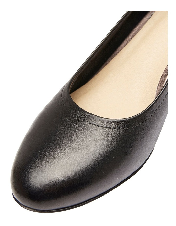 Ollie Black Glove Heeled Shoe image 4