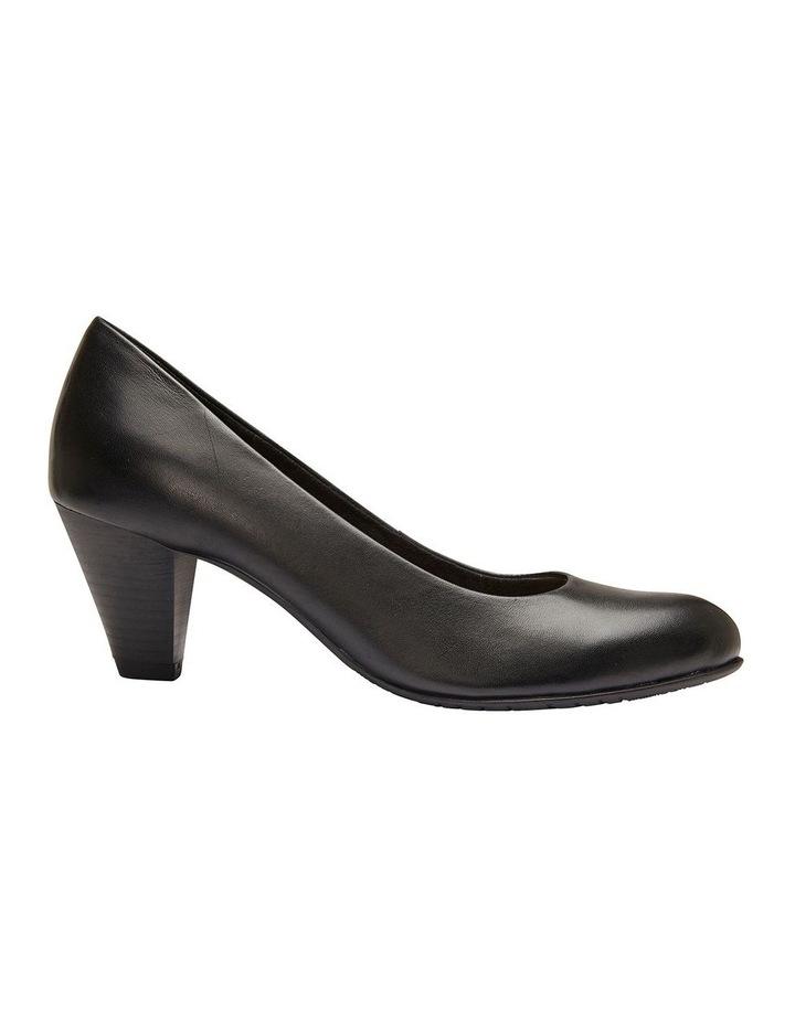 Sandler Ragley Black Glove Heeled Shoe image 1