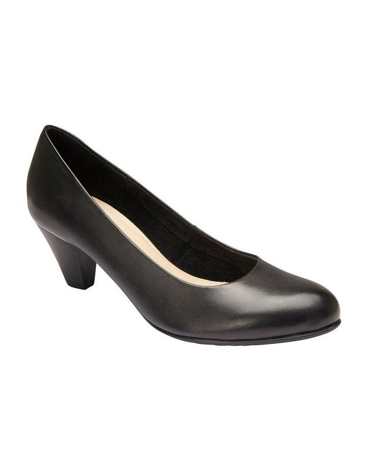 Sandler Ragley Black Glove Heeled Shoe image 2