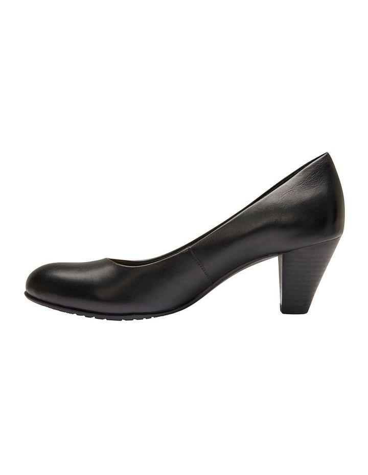 Sandler Ragley Black Glove Heeled Shoe image 3