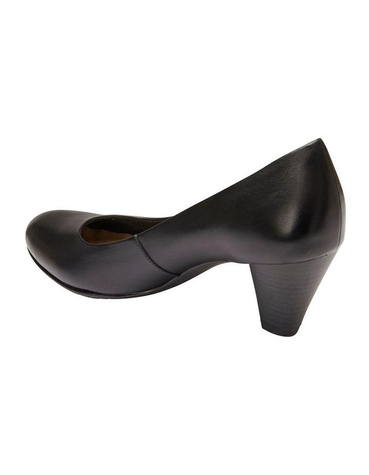 Sandler Ragley Black Glove Heeled Shoe image 4
