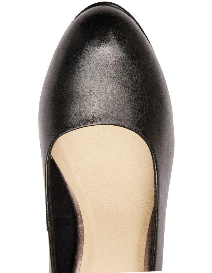 Sandler Ragley Black Glove Heeled Shoe image 7