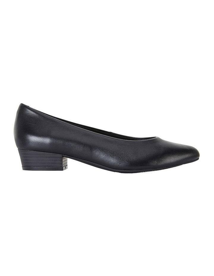 Emily Black Glove Heeled Shoe image 1