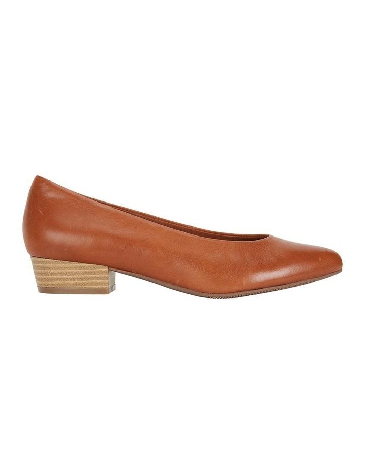 Emily Cognac Glove Heeled Shoe image 1