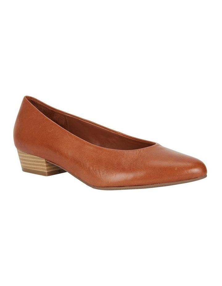 Emily Cognac Glove Heeled Shoe image 2