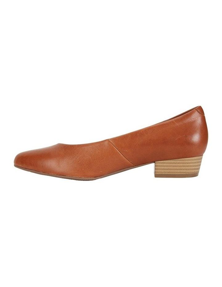 Emily Cognac Glove Heeled Shoe image 3