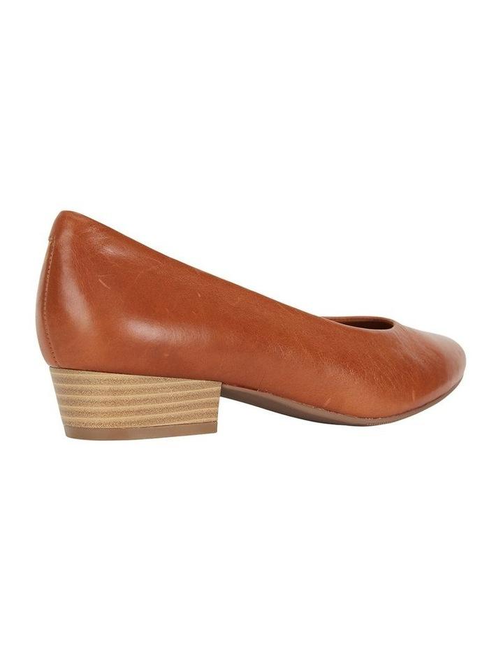 Emily Cognac Glove Heeled Shoe image 4