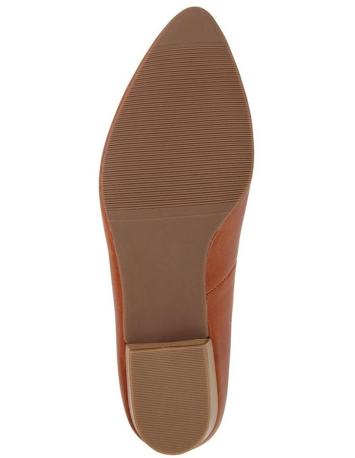 Emily Cognac Glove Heeled Shoe image 6