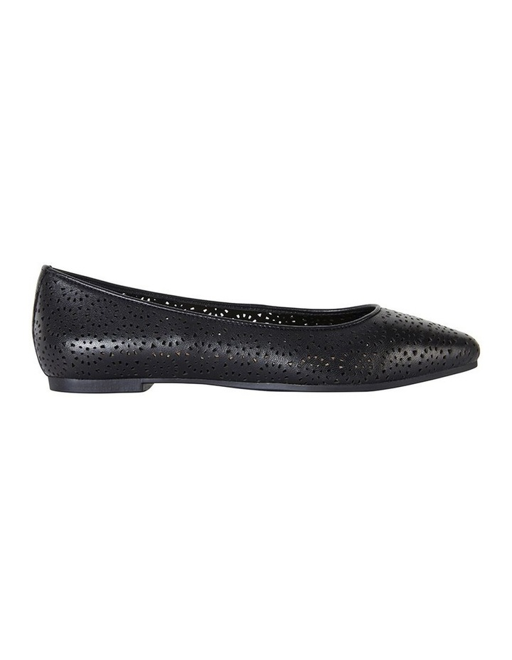 Leah Black Glove Flat Shoe image 1