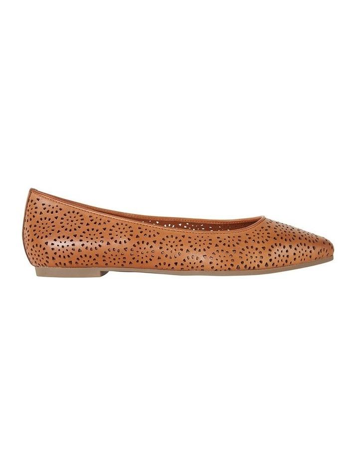 Leah Cognac Glove Flat Shoe image 1