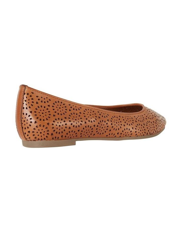 Leah Cognac Glove Flat Shoe image 4