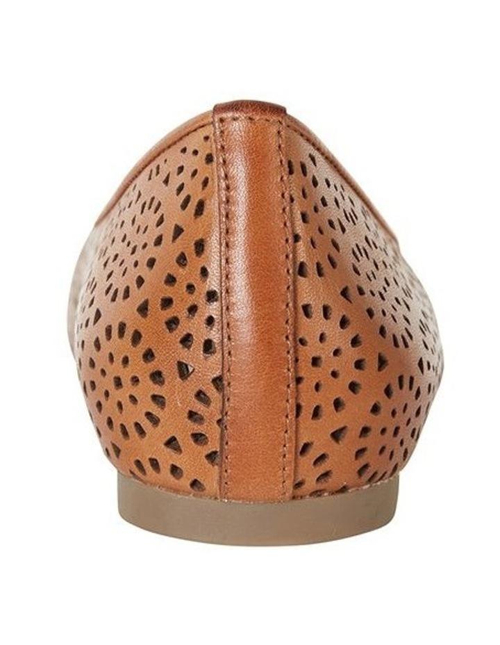 Leah Cognac Glove Flat Shoe image 6