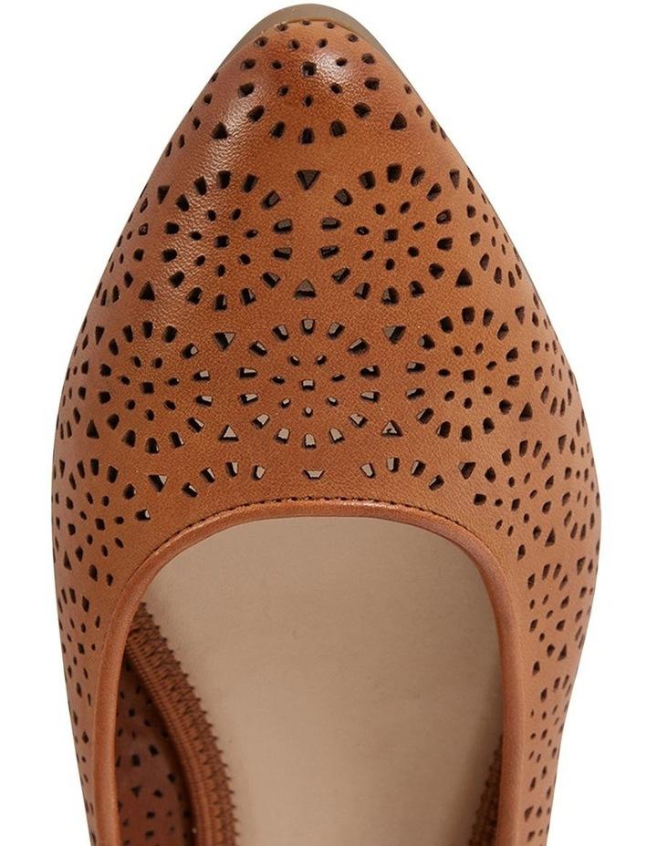 Leah Cognac Glove Flat Shoe image 7