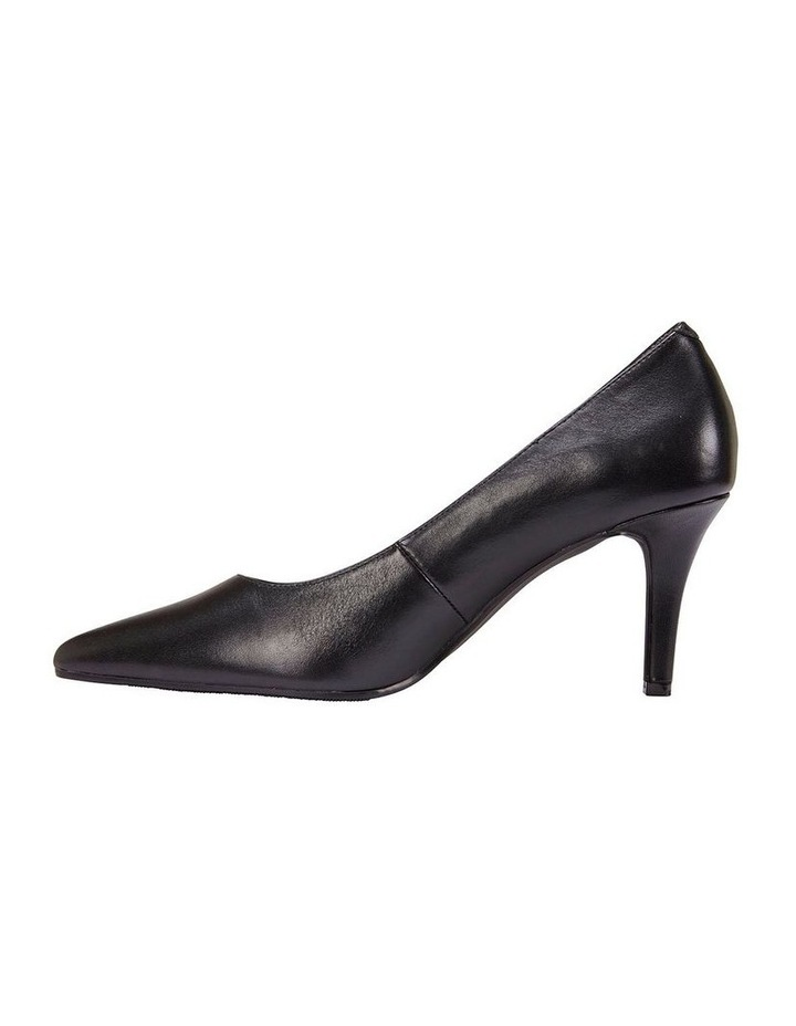 Milan Black Glove Heeled Shoe image 3