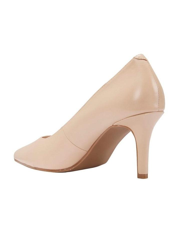 Milan Nude Glove Heeled Shoe image 4