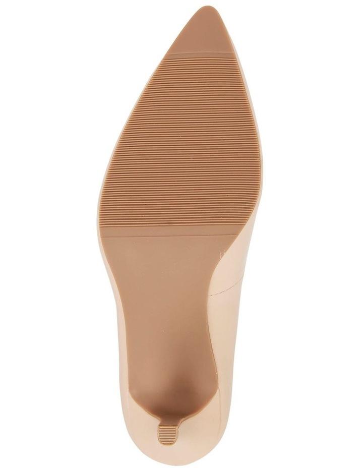 Milan Nude Glove Heeled Shoe image 6