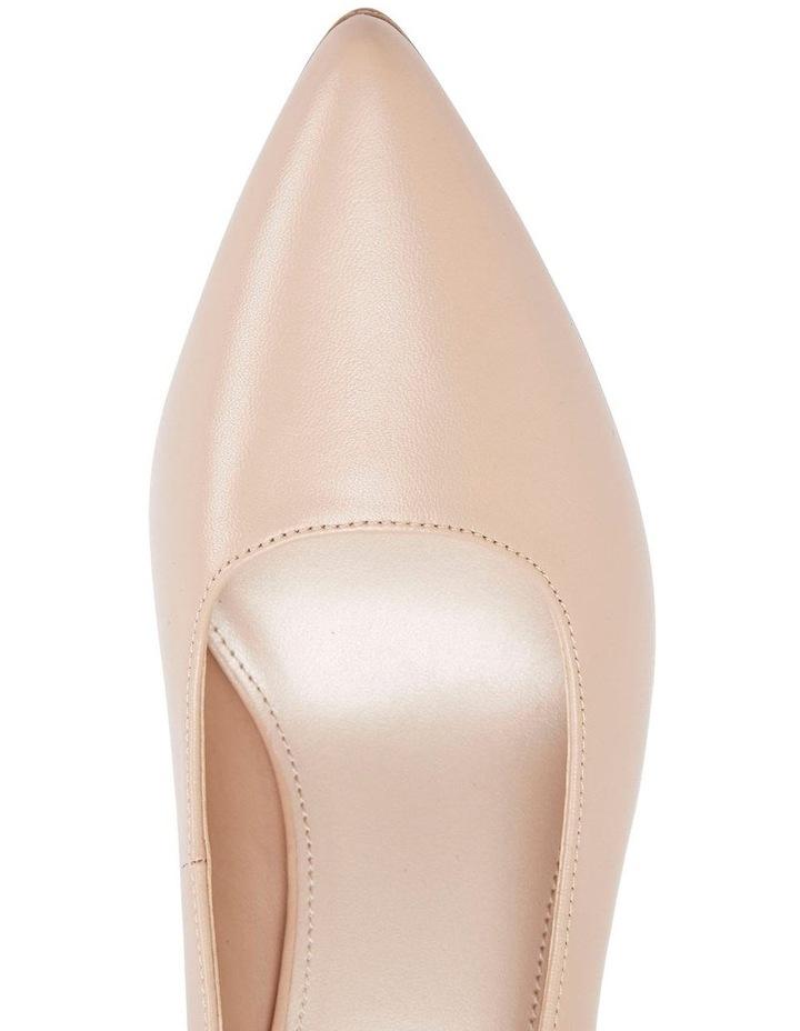 Milan Nude Glove Heeled Shoe image 7