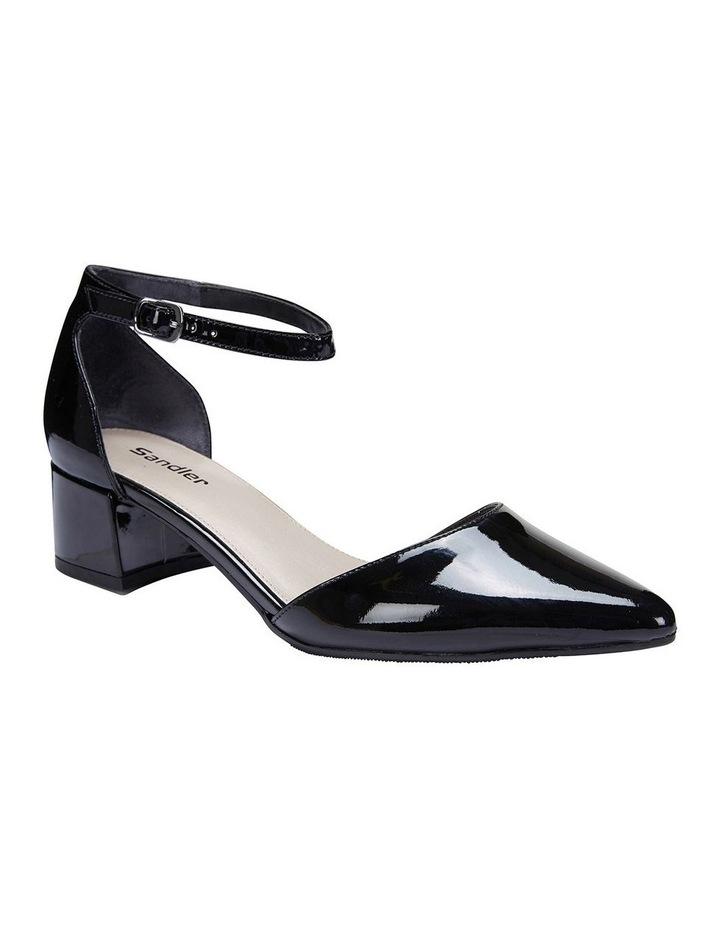Dash Black Patent Heeled Shoe image 2