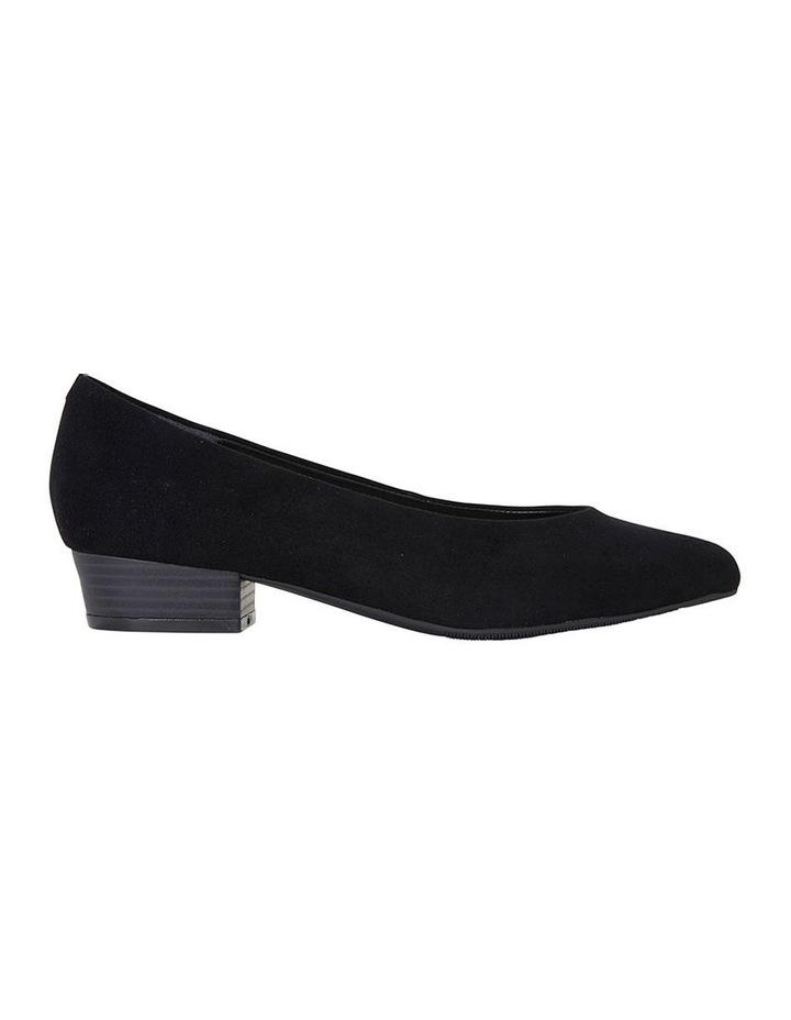 Sandler Emily Black Suede Heeled Shoe image 1