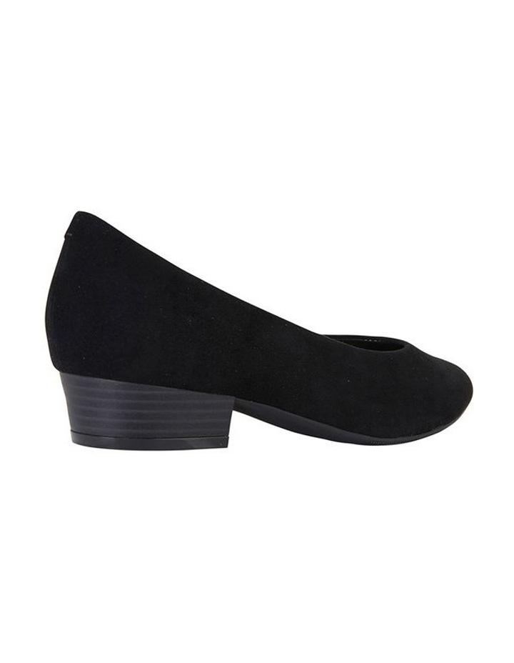 Sandler Emily Black Suede Heeled Shoe image 4