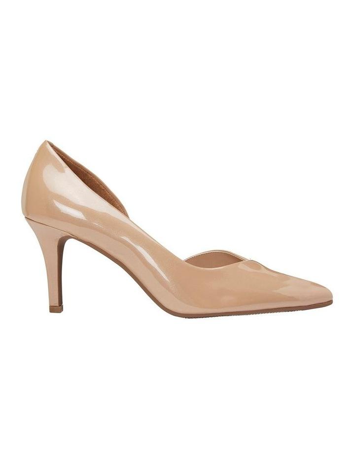 Mikado Nude Pearl Patent Heeled Shoe image 1