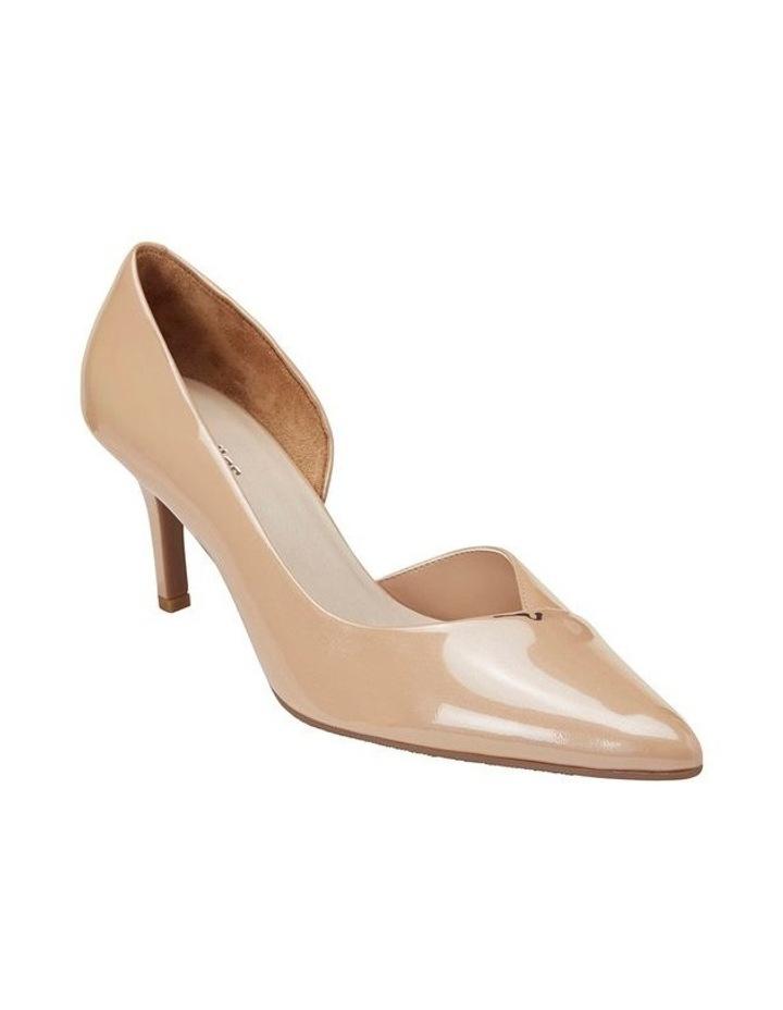 Mikado Nude Pearl Patent Heeled Shoe image 2