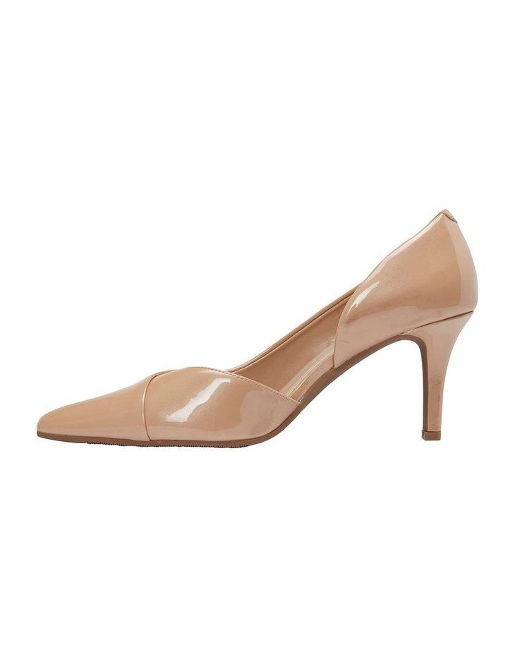 Mikado Nude Pearl Patent Heeled Shoe image 3